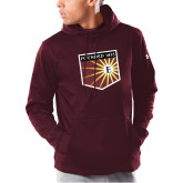 Under Armour Maroon Armour Fleece Hoodie-Shield