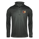 Russell Charcoal Heather 1/4 Zip-Shield