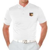 Callaway Opti Vent White Polo-Shield
