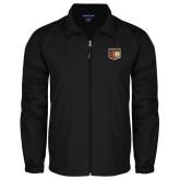 Full Zip Black Wind Jacket-Shield