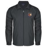 Full Zip Charcoal Wind Jacket-Shield