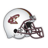 Football Helmet Magnet-Primary Athletic Mark, 6 inches wide