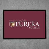 Full Color Indoor Floor Mat-Eureka College w/ Shield