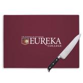 Cutting Board-Eureka College w/ Shield