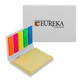 Micro Sticky Book-Eureka College w/ Shield