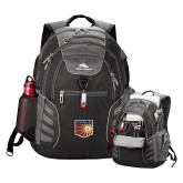 High Sierra Big Wig Black Compu Backpack-Shield
