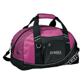 Ogio Pink Half Dome Bag-Wordmark
