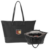 Stella Black Computer Tote-Shield