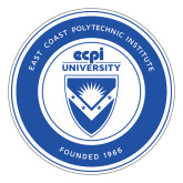 Large Decal-ECPI University Seal, 12 inches tall