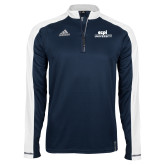 Adidas Modern Navy Varsity 1/4 Zip-ECPI University Stacked