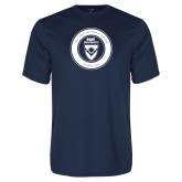 Syntrel Performance Navy Tee-ECPI University Seal