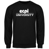 Black Fleece Crew-ECPI University Stacked