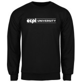 Black Fleece Crew-ECPI University Flat