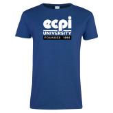 Ladies Royal T Shirt-ECPI University - Founded 1966