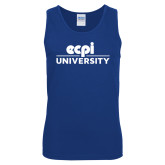 Royal Tank Top-ECPI University Stacked