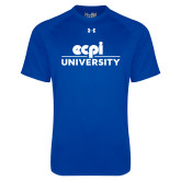 Under Armour Royal Tech Tee-ECPI University Stacked