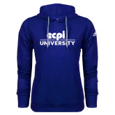 Adidas Climawarm Royal Team Issue Hoodie-ECPI University Stacked