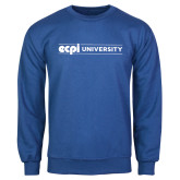 Royal Fleece Crew-ECPI University Flat