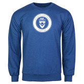 Royal Fleece Crew-ECPI University Seal