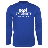 Performance Royal Longsleeve Shirt-Grandpa