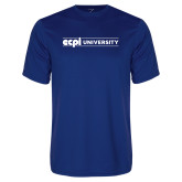 Syntrel Performance Royal Tee-ECPI University Flat