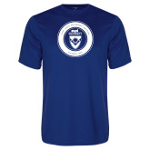 Syntrel Performance Royal Tee-ECPI University Seal