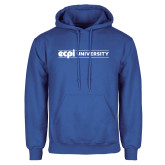 Royal Fleece Hoodie-ECPI University Flat
