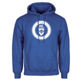 Royal Fleece Hoodie-ECPI University Seal