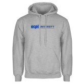 Grey Fleece Hoodie-ECPI University Flat