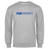 Grey Fleece Crew-ECPI University Flat