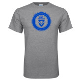 Grey T Shirt-ECPI University Seal
