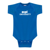 Royal Infant Onesie-ECPI University Stacked