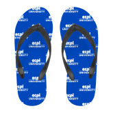Full Color Flip Flops-ECPI University Stacked