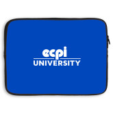 15 inch Neoprene Laptop Sleeve-ECPI University Stacked