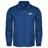 Full Zip Royal Wind Jacket-ECPI University Stacked