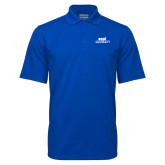 Royal Mini Stripe Polo-ECPI University Stacked