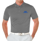 Callaway Opti Vent Steel Grey Polo-ECPI University Stacked