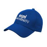 Royal Heavyweight Twill Pro Style Hat-ECPI University Stacked