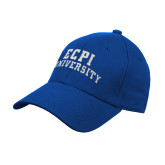 Royal Heavyweight Twill Pro Style Hat-ECPI University Arched