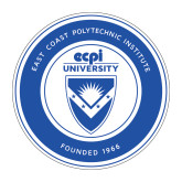 Medium Magnet-ECPI University Seal, 8 inches tall