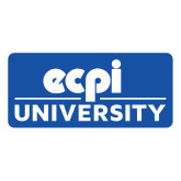 Large Magnet-ECPI University Stacked, 12 inches wide
