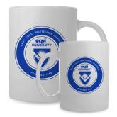 Full Color White Mug 15oz-ECPI University Seal