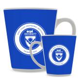 Full Color Latte Mug 12oz-ECPI University Seal