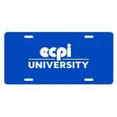 License Plate-ECPI University Stacked