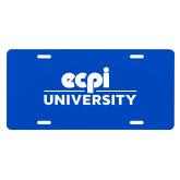 License Plate-ECPI University Stacked