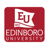 Small Decal-University Logo Vertical, 6 inches wide