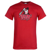 Red T Shirt-Fighting Scots Athletic Mark