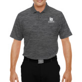 Under Armour Graphite Performance Polo-University Logo Vertical