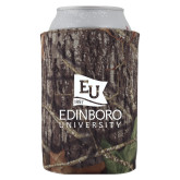 Collapsible Camo Can Holder-University Logo Vertical