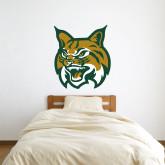 3 ft x 3 ft Fan WallSkinz-Bobcat Head